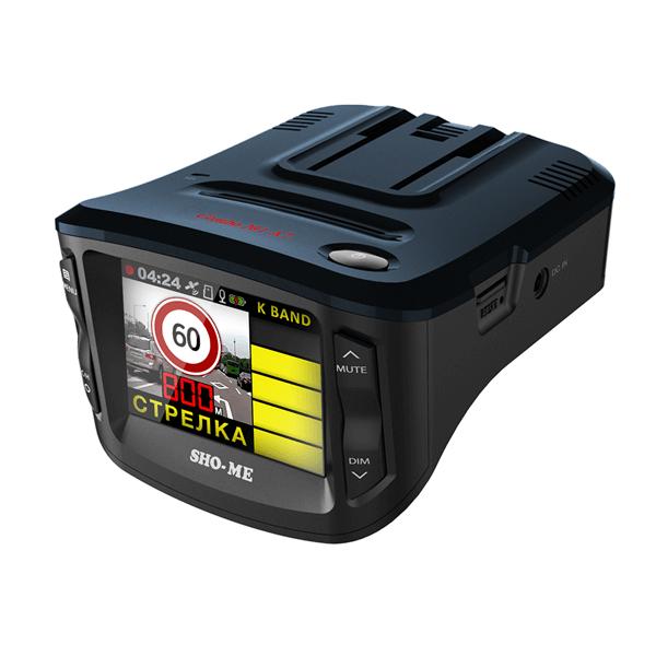 Обзор видеорегистратора SHO-ME Combo 1 A7 Комбо видеорегистратора радар детектора