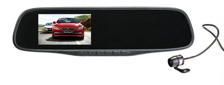 Видео обзор установка камеры задней вида видеорегистратора SilverStone F1 NTK-351 Duo