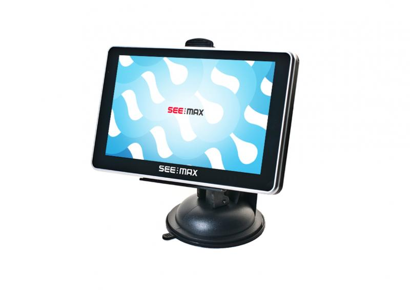 Автомобильный навигатор SeeMax navi E510 HD BT