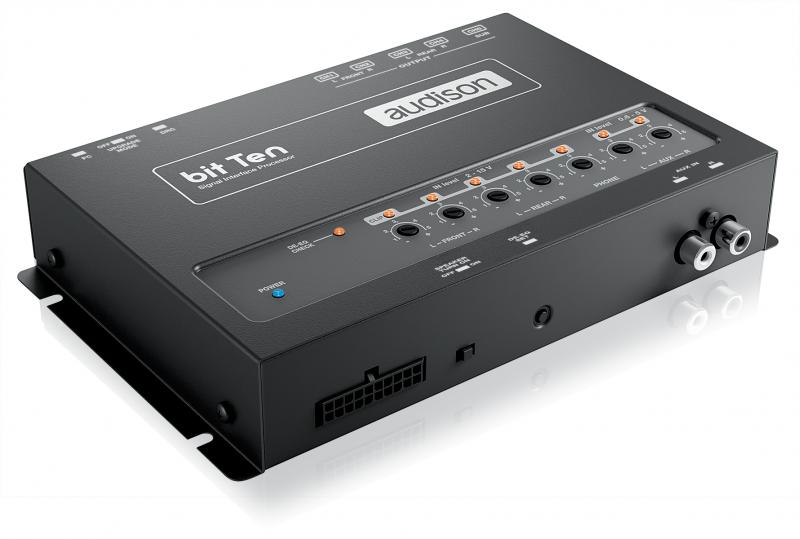 Аудио процессор Audison Bit Ten