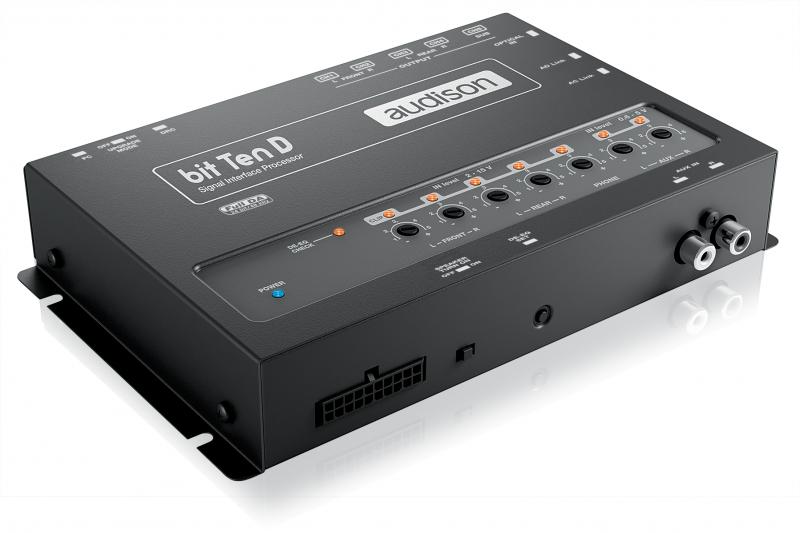 Аудио процессор Audison Bit Ten D