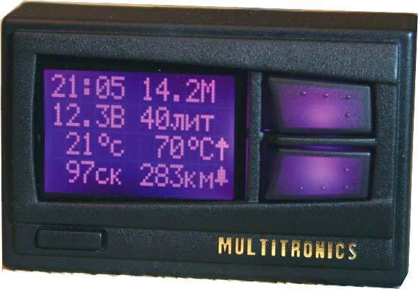 Бортовой компьютер для ВАЗ Multitronics Comfort X11