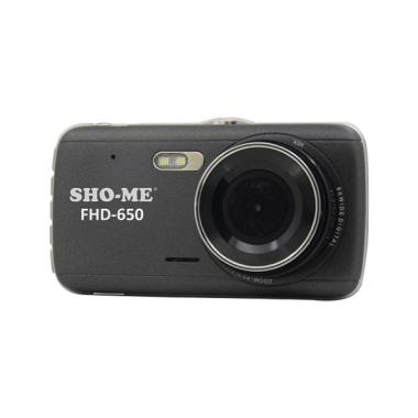 Видеорегистратор Sho-Me  FHD-650 2 камеры, с функцией парковки