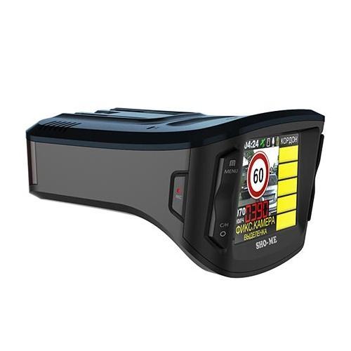 Комбо устройство видеорегистратор радар детектор SHO-ME Combo №1 Signature
