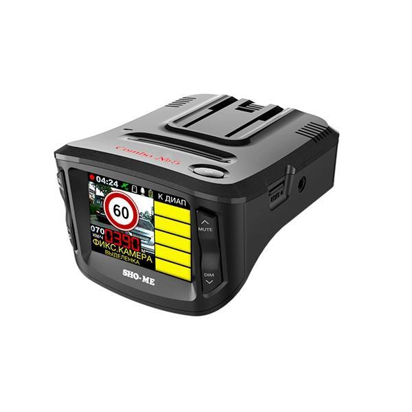 Комбо устройство видеорегистратор радар детектор SHO-ME COMBO №5 A12