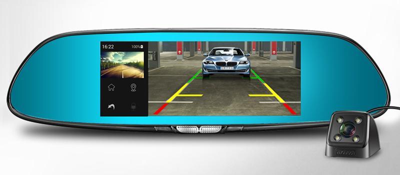 Видеорегистратор зеркало навигатор ROGA LX55 (Android, Gps. Wi-fi)