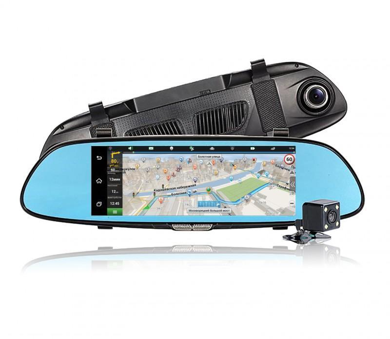Видеорегистратор зеркало навигатор DIXON M9 3G