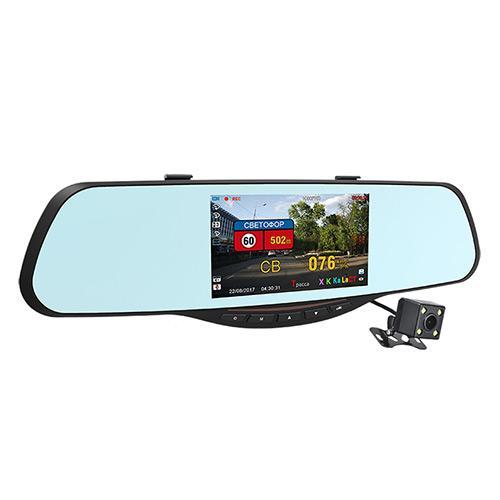 Видеорегистратор зеркало Intego VX-685MR FULLHD/VGA 4в1
