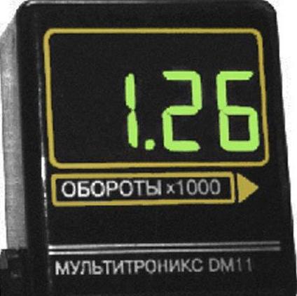 Тахометр Multitronics DM 11