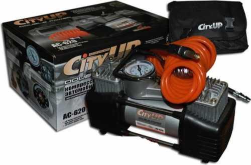 Компрессор автомобильный CityUP АС-620 DOUBLE POWER
