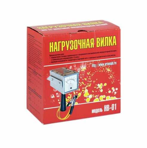 """Нагрузочная вилка """"Орион"""" HB-01, 100А"""