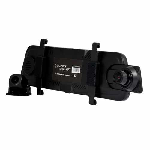Видеорегистратор зеркало VIPER WIDE Duo задняя камера, парковка