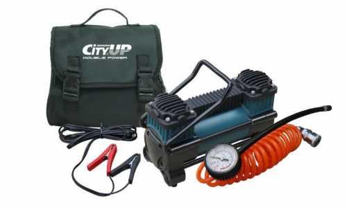 Автомобильный компрессор CityUP AC-616 Double Piston Station, 60л/мин.