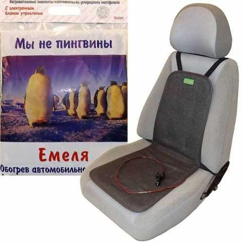 Подогрев сиденья Емеля 2 с электронным блоком управления (ЭБУ)