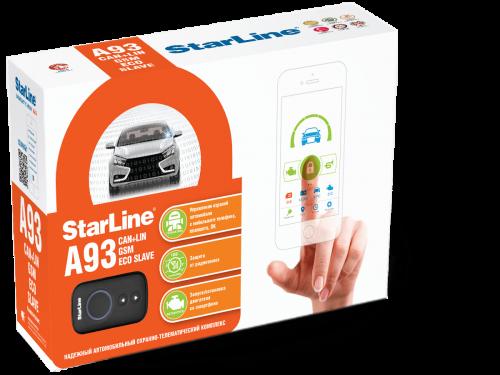 Автосигнализация StarLine А93 V2  2CAN+2LIN GSM ECO