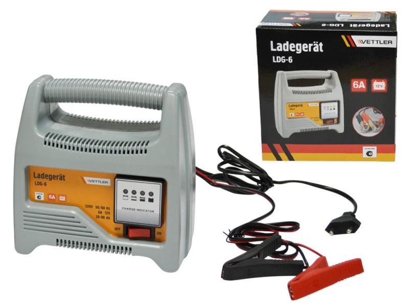 Зарядное устройство для АКБ 12В 6A VETTLER