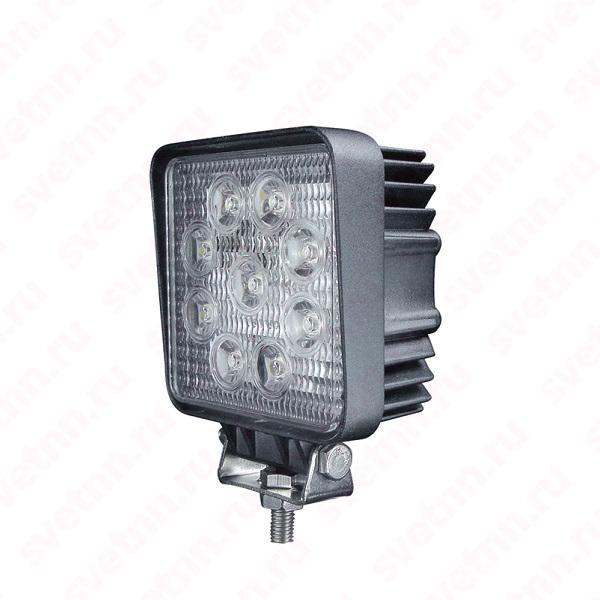 Светодиодная фара Totron T1027 27 ВАТТ рабочий свет (квадрат)