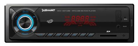 Автомагнитола SWAT MEX-1007UBB