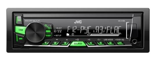 Автомагнитола JVC KD-X120EE