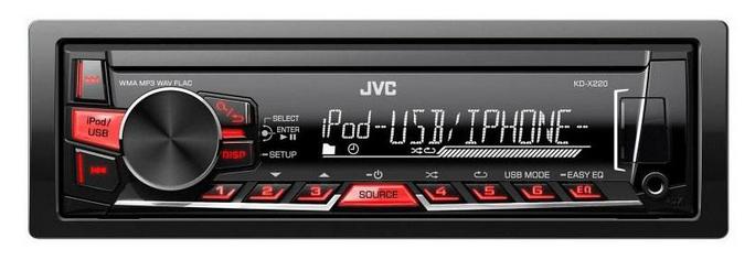 Автомагнитола JVC KD-X220EY