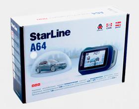 Сигнализация Starline A64 dialog