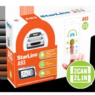 Сигнализация Starline A93 2CAN+2LIN
