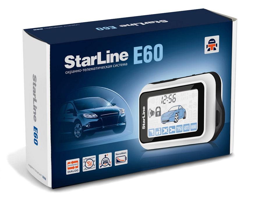 Сигнализация Starline E60