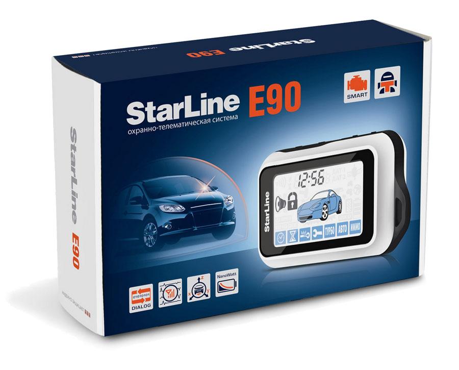 Сигнализация Starline E90 + F1(Модуль бесключевого обхода иммобилайзера)