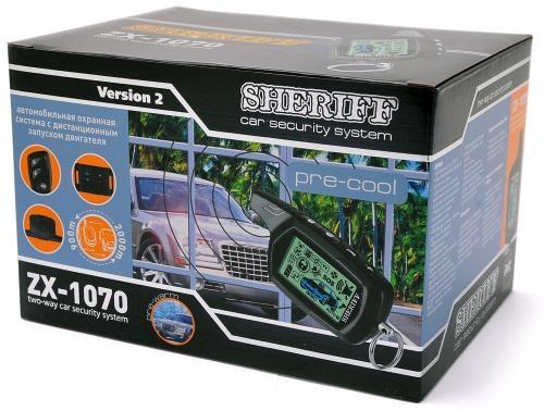 Sheriff  ZX-1070 автозапуск