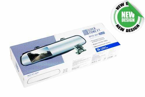 Видеорегистратор SilverStone F1  NTK-351 Duo + задняя камера