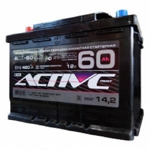 Аккумулятор ACTIV FROST AF 6CT- 60
