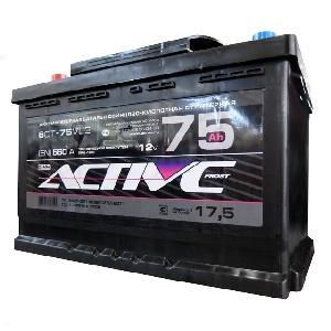 Аккумулятор ACTIV FROST AF 6CT- 75