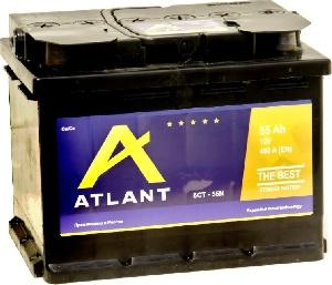 Аккумулятор ATLANT 6СТ - 55