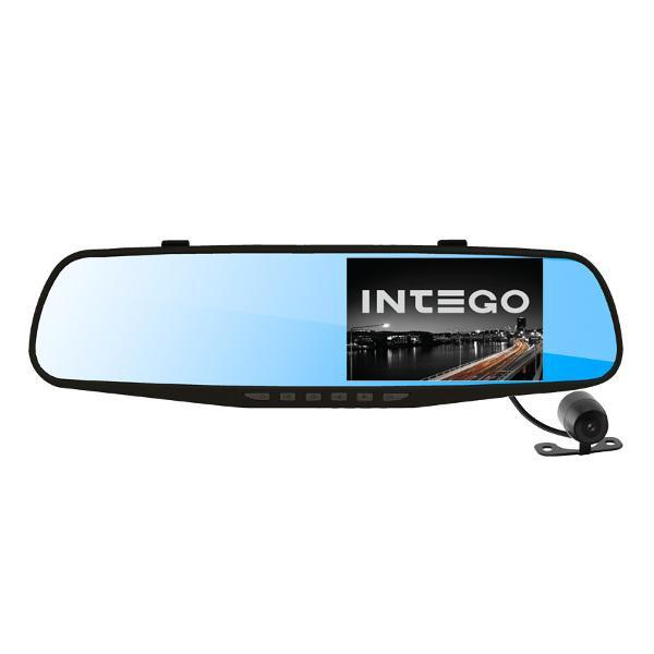 Видеорегистратор зеркало Intego VX-410 MR с задней камерой