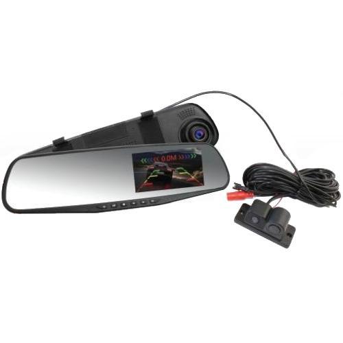 """Sho-Me  SFHD 600   зеркало 4,3"""", 2 камеры и парктроник"""