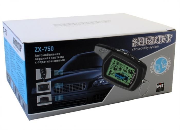 Автосигнализация Sheriff ZX-750
