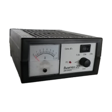 Зарядное устройство Вымпел-20 автомат, 0-6А, 6/12/18В, стрелочный амперметр