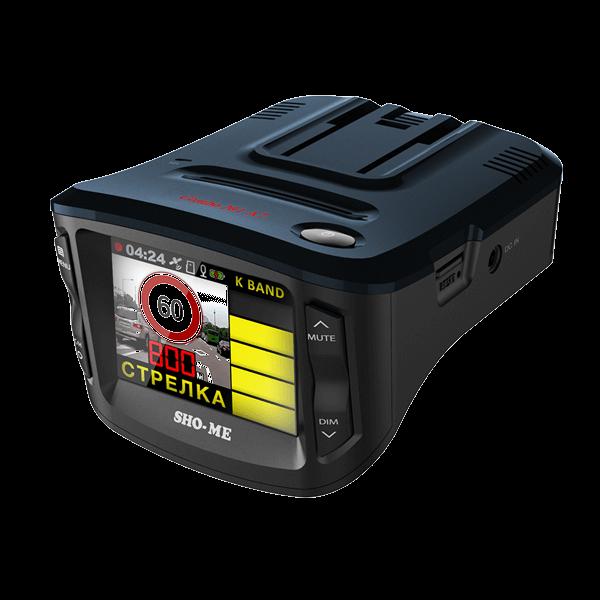Комбо видеорегистратор радар детектор SHO-ME Combo 1 A7