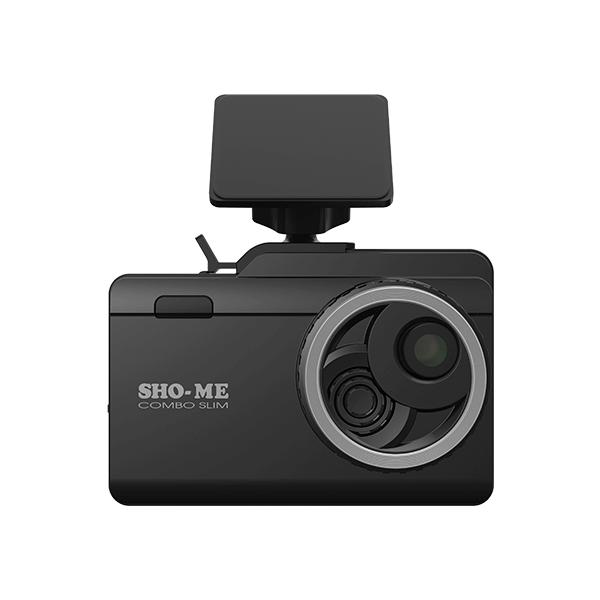 Комбо устройство видеорегистратор радар детектор SHO-ME Combo Slim Signature