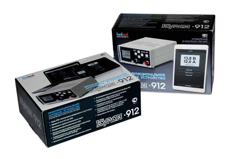 Зарядное устройство Кулон 912 встроенный модуль Wi-Fi