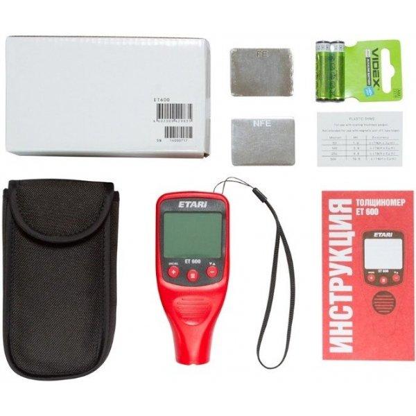 Толщиномер ET-600 + Чехол