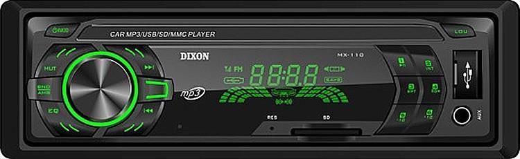 Автомагнитола Dixon MX110GN