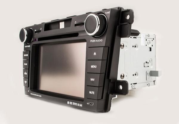 Штатное головное устройство Phantom DVM-7520G Mazda CX-7