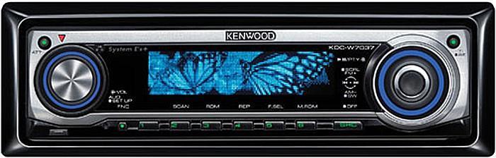 Автомагнитола Kenwood KCD - W 7037 Y  1 DIN USB/MP3 (без диска)