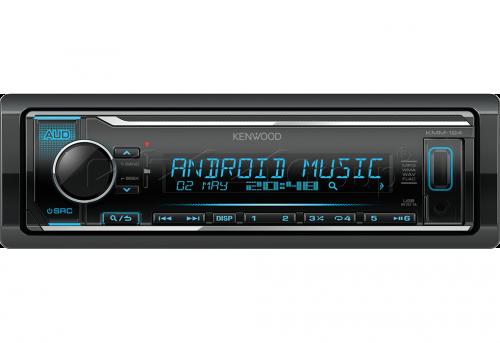 Автомагнитола Kenwood KMM-124 1 DIN USB/MP3 (без диска)