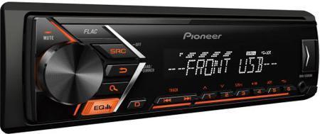 Автомагнитола Pionеer MVH-280FD(4X100вт) 1 DIN USB/MP3 (без диска)