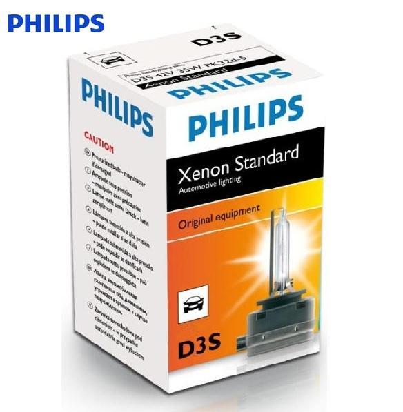 """Ксеноновая лампа""""Philips""""D3S 5000K"""