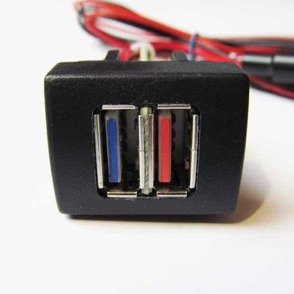 Зарядка для моб тел USB кнопка ВАЗ